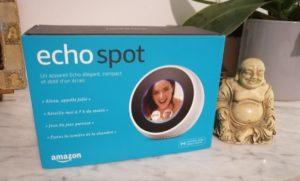 Unboxing Echo Spot Français