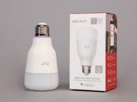 Ampoule Xiaomi Yeelight sur Amazon