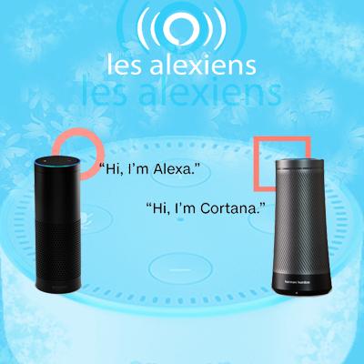 Collaboration Microsoft et Amazon dans les assistant vocaux