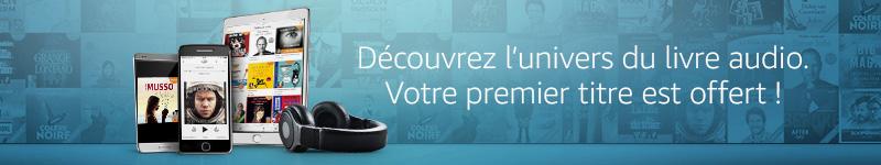 Essayez gratuitement Audible sur Amazon Echo avec Alexa