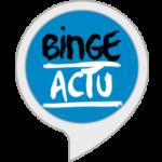 Skill de Binge Actu pour Amazon Alex