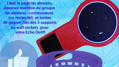 Photo of [CONCOURS] Gagnez 3 supports pour Amazon Echo Dot