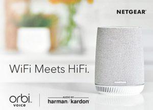 Etendre son Wifi et profiter d'une enceinte connectée Alexa avec Orbi Voice de Netgear
