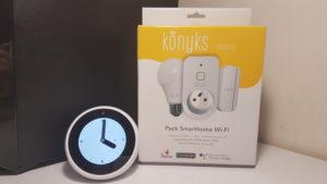 Ampoule, prise et détecteur connectés Konyks
