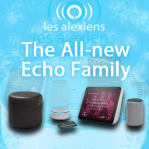 Présentation des nouveaux Amazon Echo Plus et Show, Echo Dot et Sub