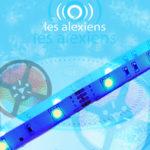 Bandeau LED et bandes rouleau de LED pour Alexa et Echo d'Amazon