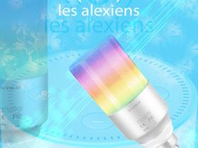 EXTSUD Ampoule E14 connectée, 5W pour Amazon Alexa