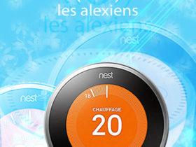 Test du thermostat Nest Learning de deuxième génération avec Amazon Alexa