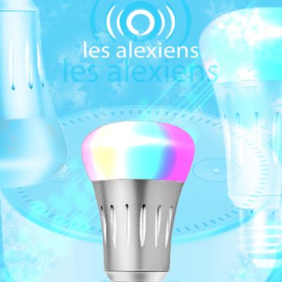 Test de Yuanguo ampoule RGB E27 7W compatible avec Amazon Alexa