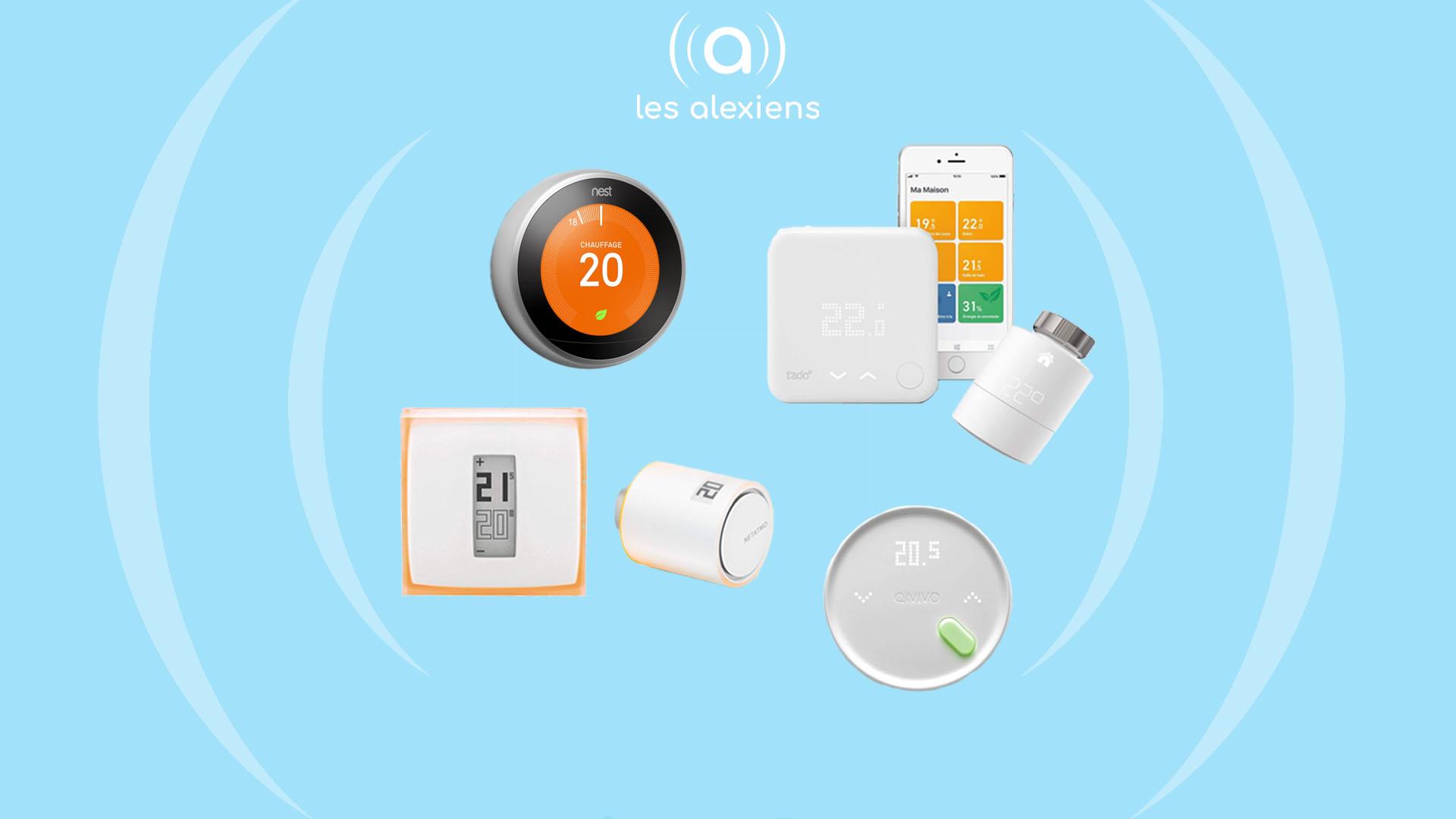 Dossier Les Thermostats Connectes Compatibles Alexa Les Alexiens