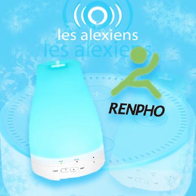 Diffuseur d'huiles essentielles connecté compatible Alexa et Google Home Assitant IFTTT