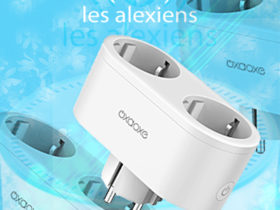 OxaOxe NX-SP202 : une prise connectée double compatible Alexa