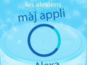 Mise à jour de l'application pour Android et iOS d'Amazon Alexa