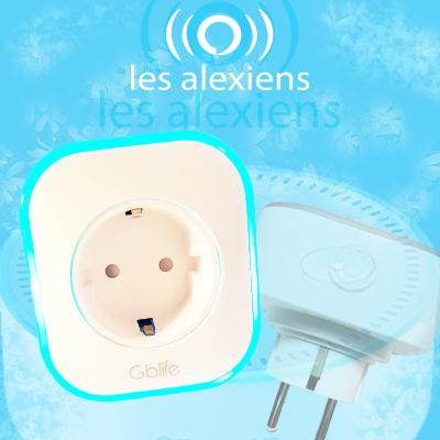 Prise GBLife compatible Alexa en test sur LesAlexiens.fr