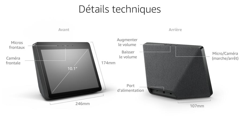 Sortie France d'Echo Show 2, le 2e appareil à écran intégrant Amazon Alexa en France