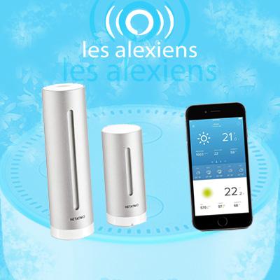 Tutoriel et test de la station météo connectée Netatmo avec Amazon Alexa