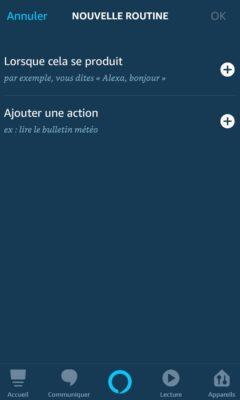 tutoriel création de routines avec Alexa 13