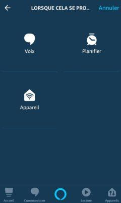 tutoriel création de routines avec Alexa 19
