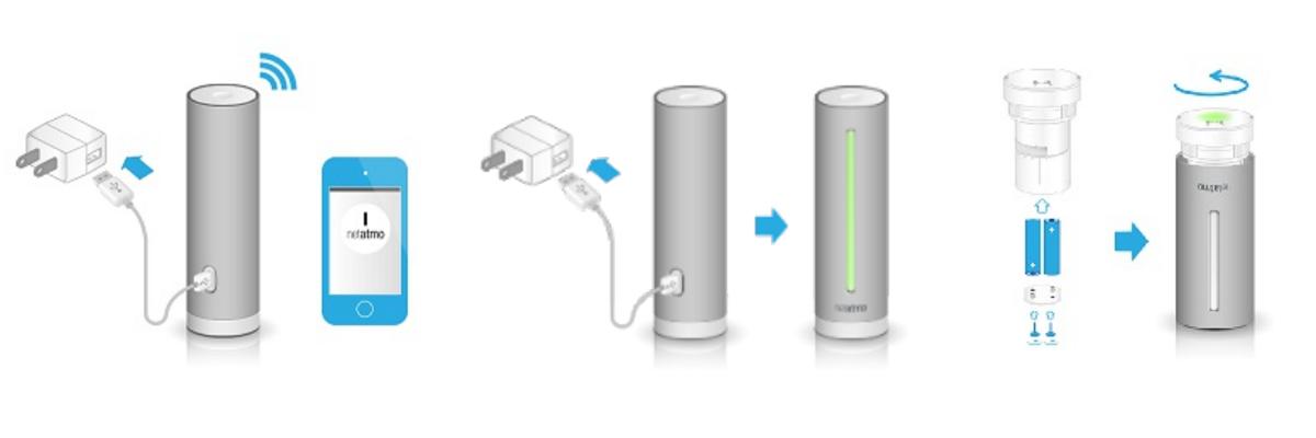 Installation de la station Netatmo avec Amazon Alexa