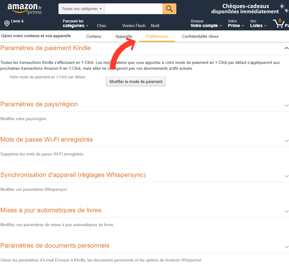 Changer la langue d'Alexa ou des skills sur Amazon Echo partie 2
