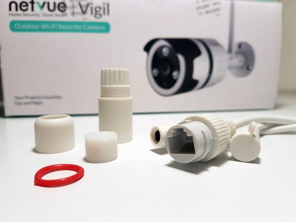 Netvue Vigil, une caméra wifi compatible avec Amazon Alexa pour vos Amazon Echo Spot ou Echo Show 2