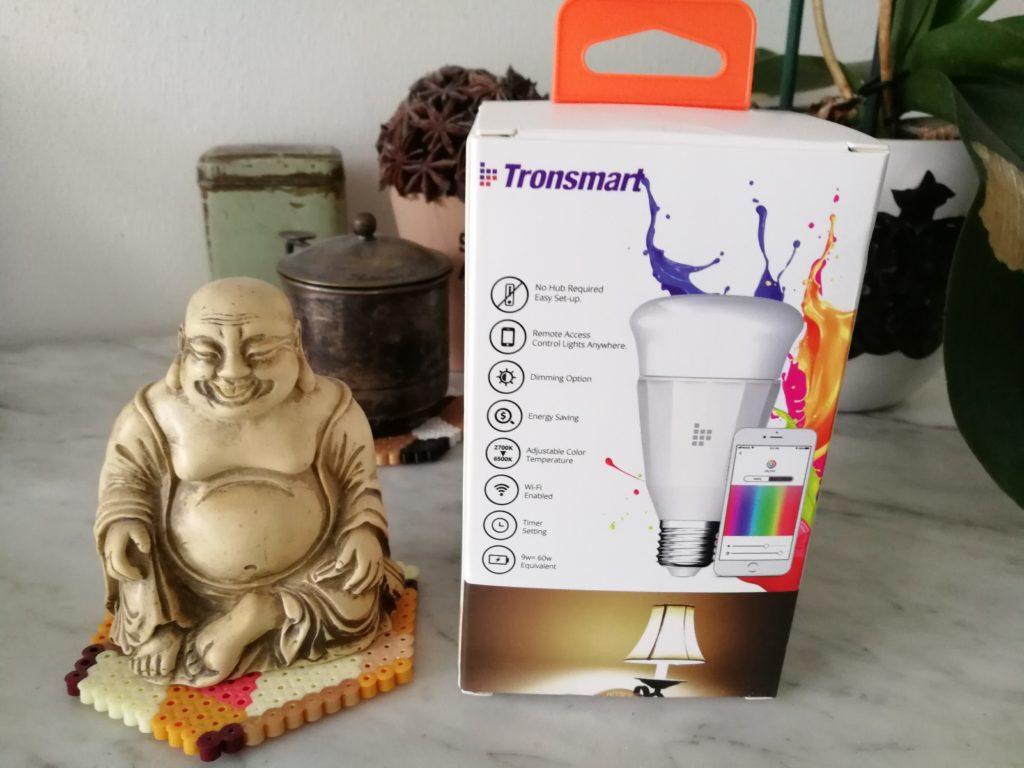 test de l'ampoule Tronsmart TB01