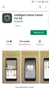 application IHC for EU Intelligent Home Control for Europe Broadlink