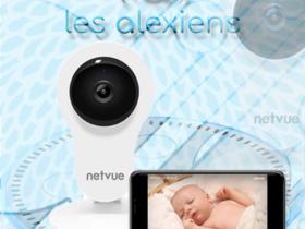 Test de la caméra babyphone pour Amazon Echo Spot Show : Netvue HomeCam