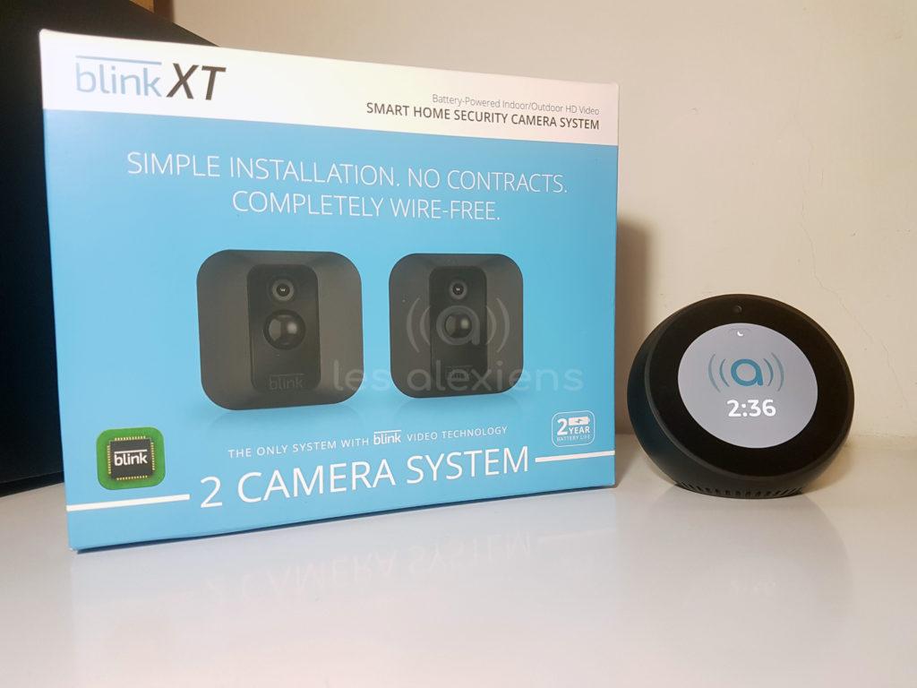 Test des caméras Blink XT pour Amazon Echo Spot et Show et Amazon Alexa - 2