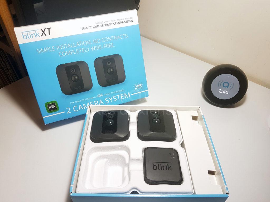 Test des caméras Blink XT pour Amazon Echo Spot et Show et Amazon Alexa - 1