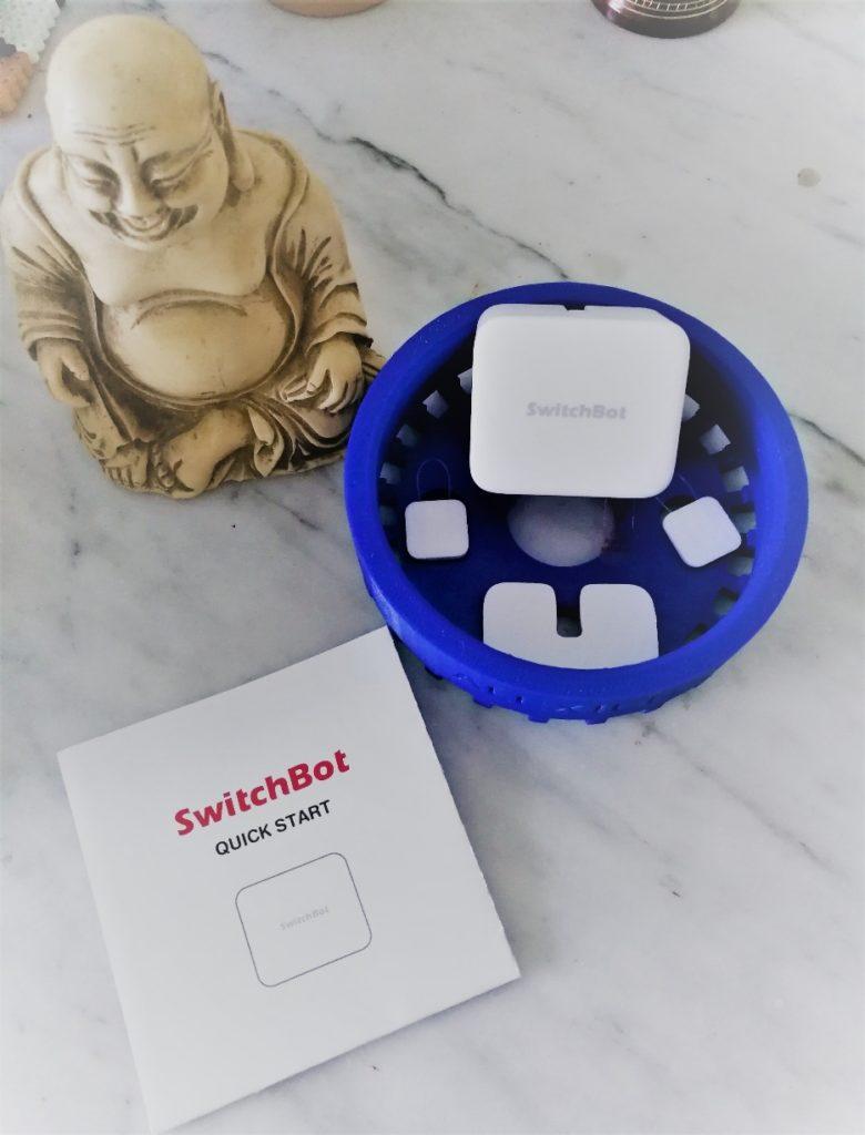 Test SwitchBot : un bouton connecté qui appuie pour vous !