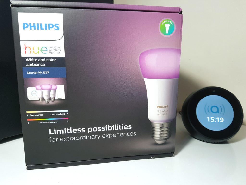 Test du Starter Kit Philips Hue E27