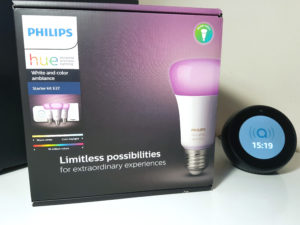 Test du Starter Kit Philips Hue E27