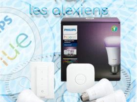 Test et avis du kit ampoules connectées Philips Hue avec Alexa