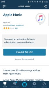 Apple Music sur Alexa et Amazon Echo bientôt disponible en France