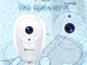 Test et avis caméra Ezviz ezCube C2C : caméra pas chère pour Alexa et Amazon Echo
