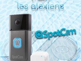 SpotCam Video Doorbell Pro : test avis et prix avec Amazon Alexa et Echo Show 2