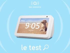 Test et avis complet sur l'Amazon Echo Show 5, une enceinte connectée intégrant Alexa
