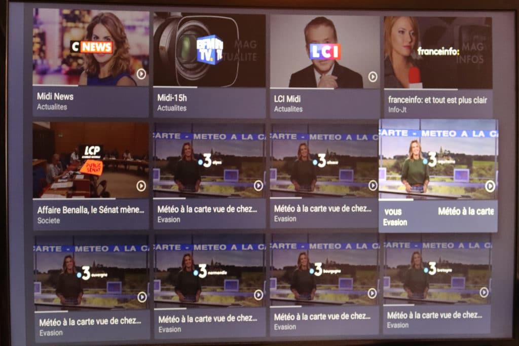 MyCanal sur Amazon Fire TV Stick 4K