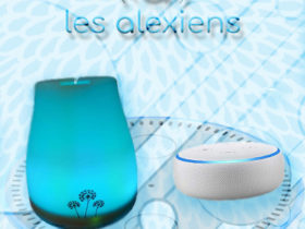 Diffuseur Huiles Essentielles HE Alexa Echo d'Amazon