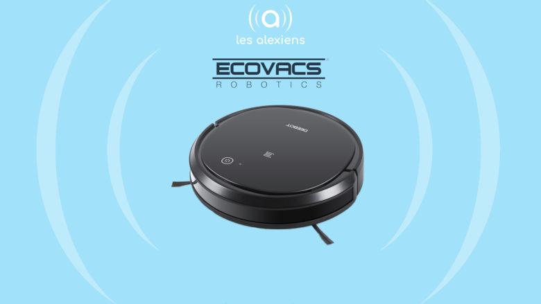 Deebot 500 / 501 /502 : nouveaux robots aspirateurs ECOVACS