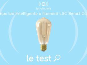 Test vidéo ampoules Action LSC Smart Filament avec Alexa Echo d'Amazon