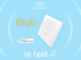Konyks Vollo : test de l'interrupteur pour volets roulants