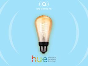 Nouveautés Philips Hue : prise connectées et ampoule filament