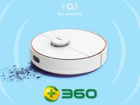 Avis sur le robot aspirateur 360 S7