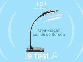 Lampe connectée BENEXMART : une lampe de bureau compatible Smart Life et Amazon Alexa Echo