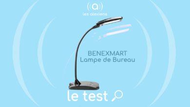 Photo of [TEST] BENEXMART Lampe de bureau connectée  : un luminaire qui obéit au doigt et à la voix