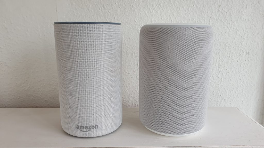 Amazon Echo 3 versus Echo 2