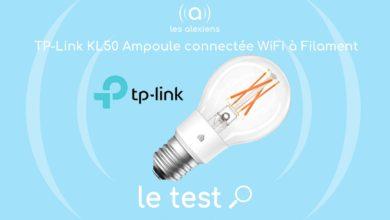 Photo of [TEST] TP-Link KL50 ampoule connectée Wi-Fi: une E27 à filament rétro et tout à fait moderne