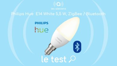 Photo of [TEST] Ampoule connectée Philips Hue White E14 5,5 W : les premiers prix se mettent au Bluetooth